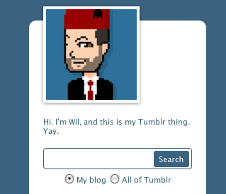 Wil Wheaton's avatar on Tumblr