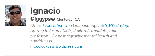 A picture of Ignacio's Professional Twitter Profile