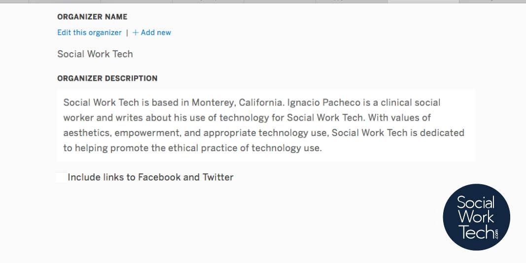 Eventbrite For Your Social Work Event Social Work Tech