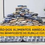 Doação dos Alimentos arrecadados – Palestra Beneficente Murillo Cucatto