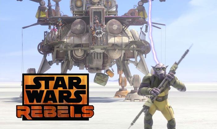 Revelado título e clipe do primeiro episódio da segunda temporada de Star Wars Rebels.