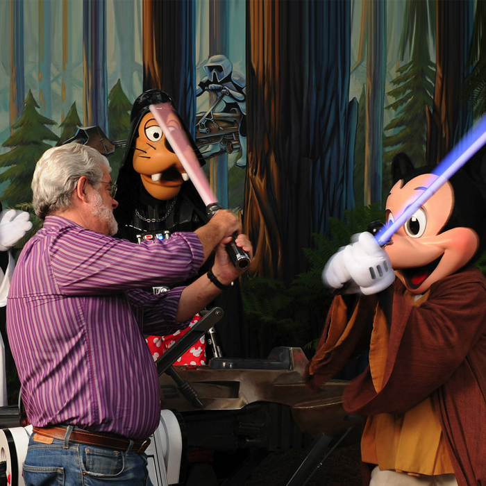 A Disney e seu universo Star Wars