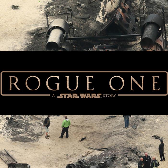 Novas fotos das filmagens de Rogue One!