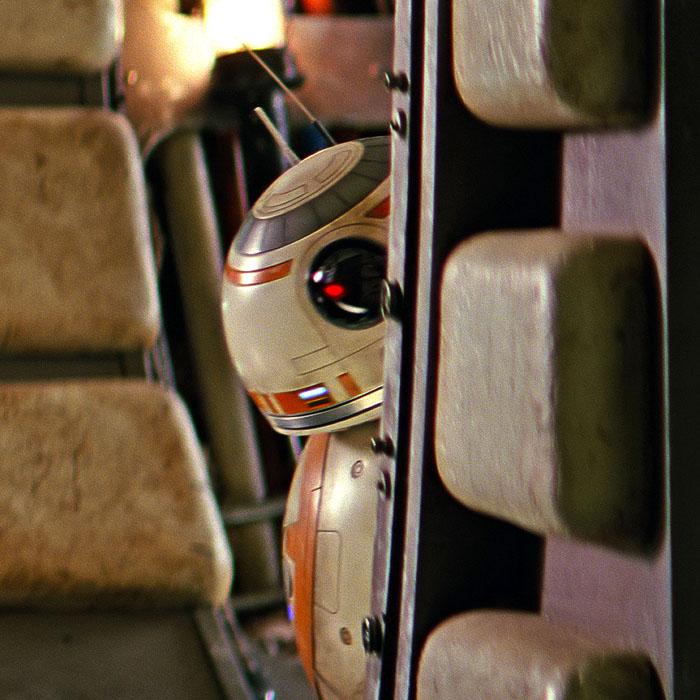 Novas imagens dos droides de O Despertar da Força!