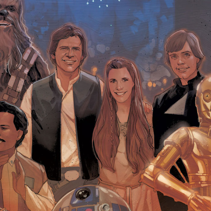 Ideias de George Lucas inspiraram os novos livros de Star Wars!