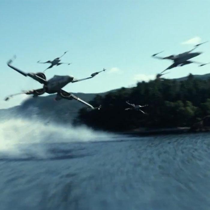 Novas artes conceituais de naves de O Despertar da Força!