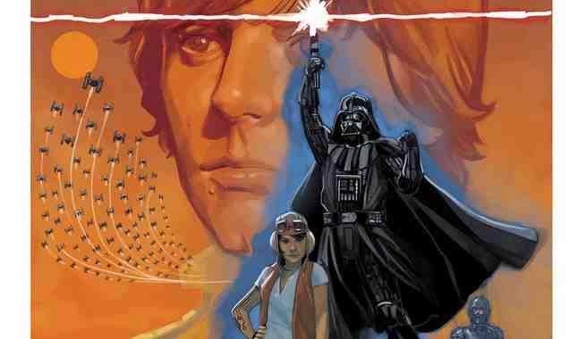 Confiram algumas capas variantes de Star Wars: Vader Down #1