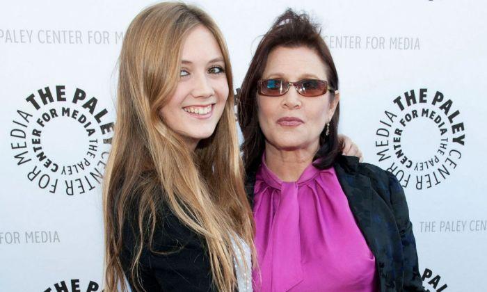 A filha de Carrie Fisher em 'O Despertar da Força'