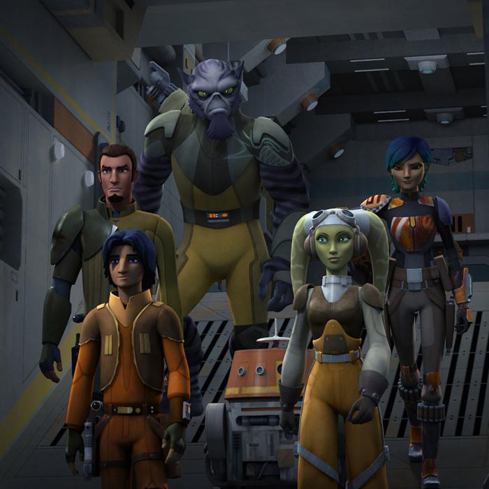 Star Wars Rebels é renovada para a terceira temporada!