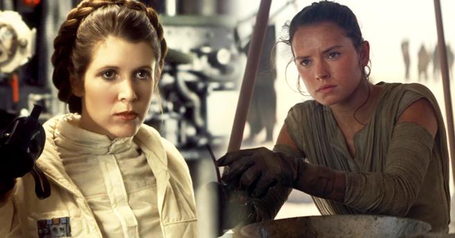 Nova foto de Leia e Rey