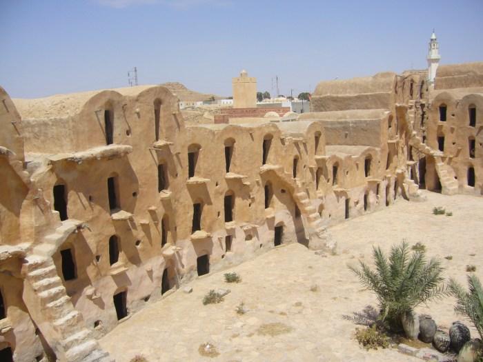 Lugares de Star Wars - Tunísia 02 (Casa Lars)