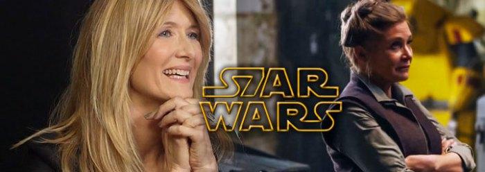 Star Wars VIII: Primeiro rumor sobre o papel de Laura Dern