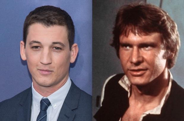 Miles Teller confirma que fez audição para o papel de Han Solo