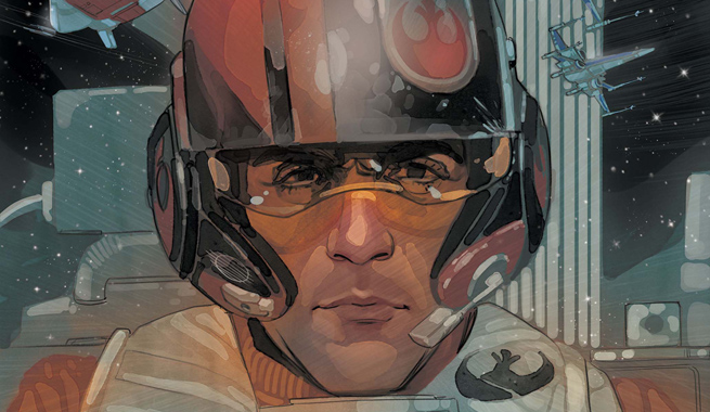 Review – Poe Dameron #01