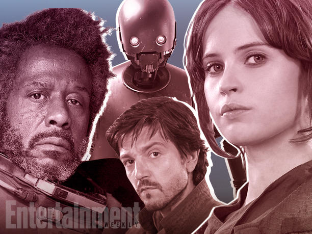 Rogue One | Reveladas descrições de personagens, segundo site