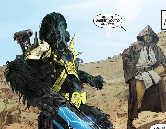 Quadrinhos | Nova edição de HQ apenas aumenta a vontade de vermos um filme do Obi-Wan