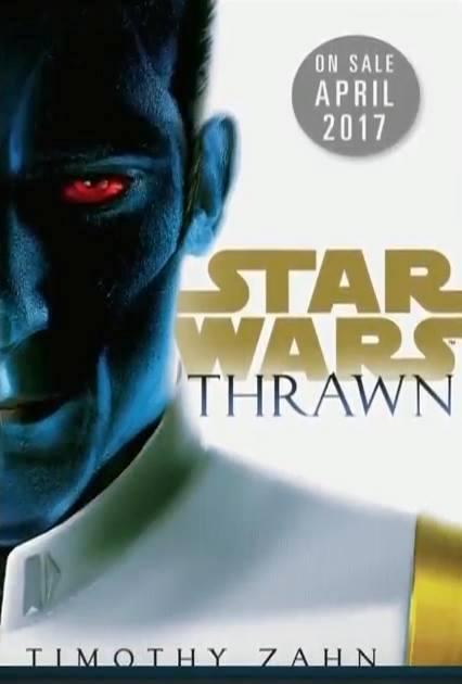 Celeration 2016 - Rebels - Livro Thrawn