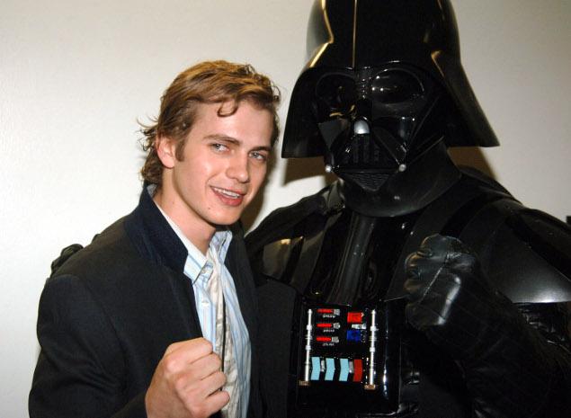 Hayden Christensen quer voltar a ser Darth Vader
