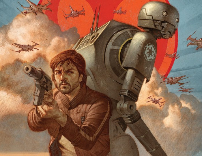 Rogue One | HQ irá revelar como Cassian conheceu K-2SO