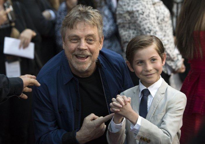 """""""Surtei ao conhecer Luke Skywalker"""", revelou ator mirim"""