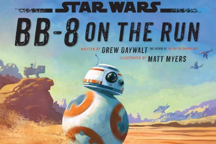 Livro | BB-8 On The Run
