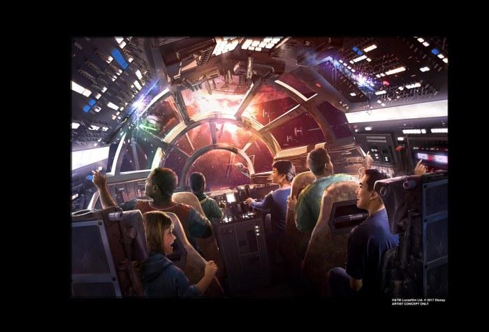 Nome e detalhes do parque temático de Star Wars na Disneylândia são revelados