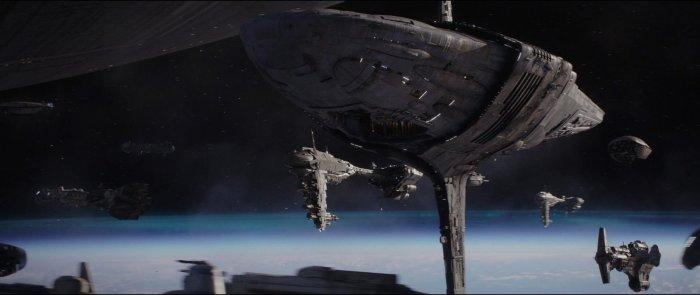 Os Últimos Jedi | Conheça Raddus, o cruzador pesado da Resistência