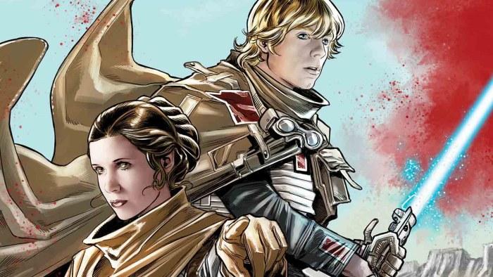 HQ mostrará Luke e Leia em Crait