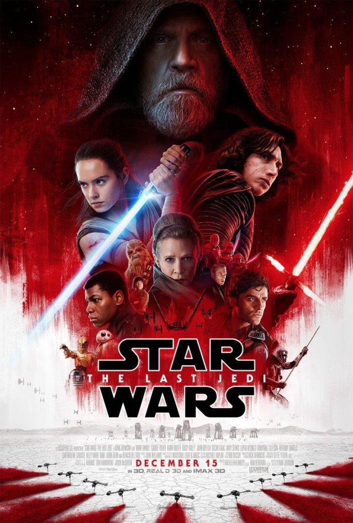 Os Últimos Jedi | Revelado o pôster oficial do filme