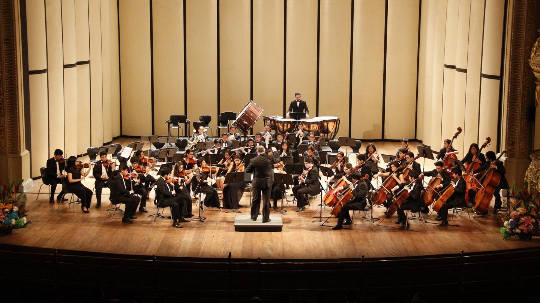 Orquesta Sinfónica de la Universidad Nacional de Música – Perú @ Auditorio Colegio Santa Úrsula