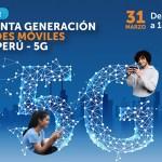 La quinta generación de redes móviles en el Perú