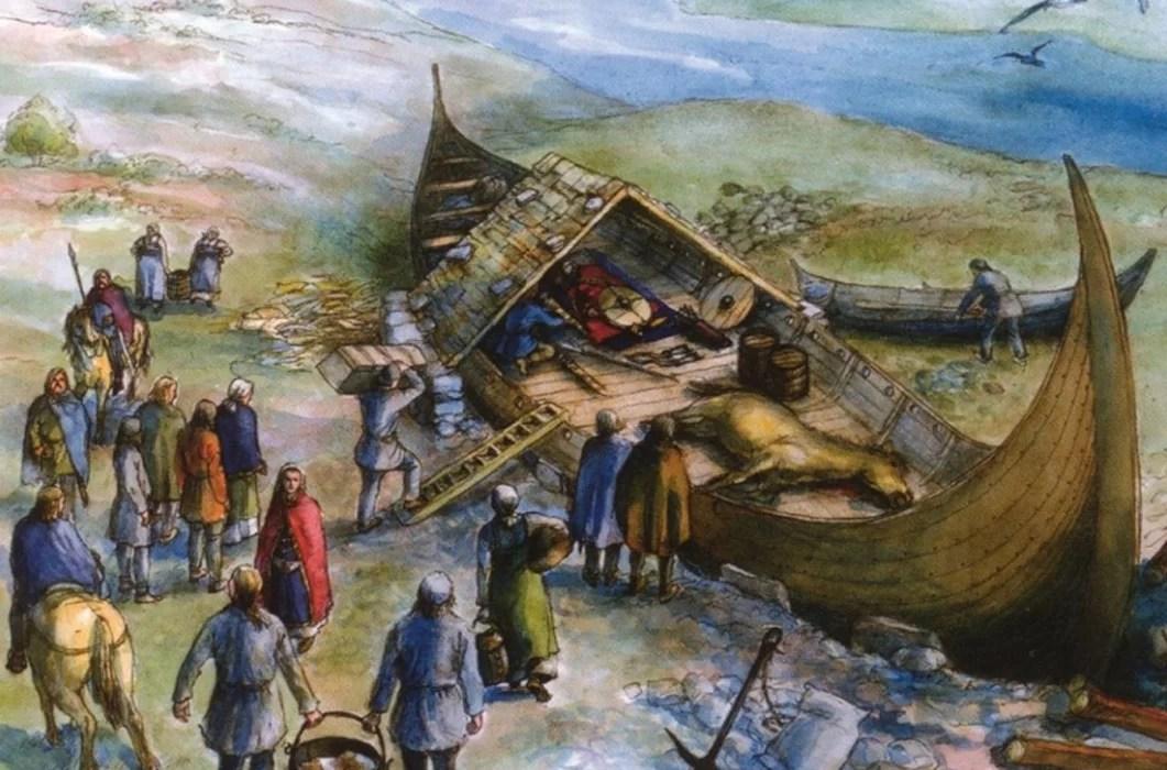 Descobertos barcos e esqueletos vikings fantasticamente preservados na Suécia