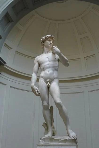 Uma foto completa do David de Michelangelo em Florença. (Michelangelo / CC BY 3.0)