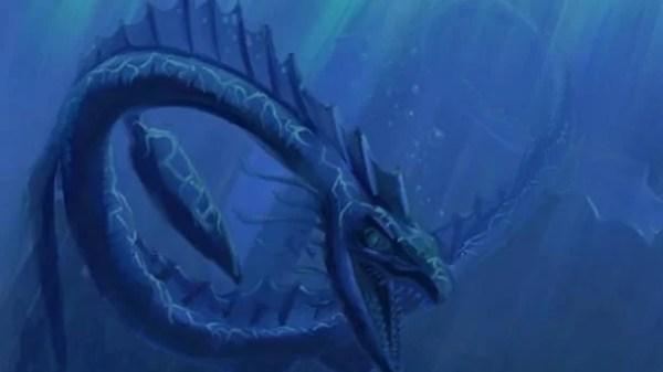 Lendária criatura marinha por NetRaptor / deviantart