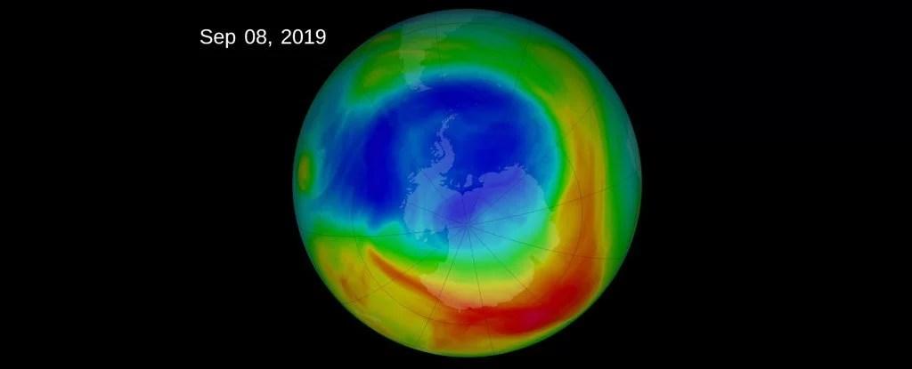 redução da camada de ozônio