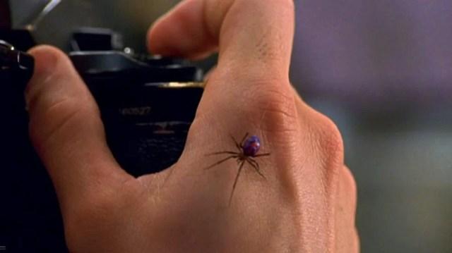 Crianças deixam viúva negra picá-las para se tornarem o Homem-Aranha