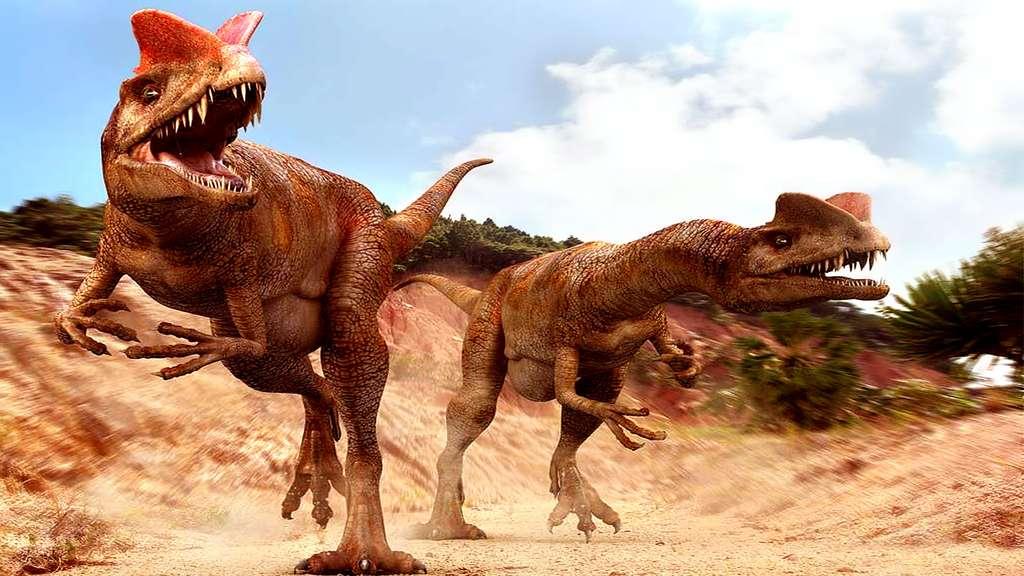 Futura Sciences, https://www.futura-sciences.com/planete/photos/paleontologie-top-10-dinosaures-vous-ne-voudriez-jamais-croiser-677/paleontologie-dilophosaure-dilophosaurus-present-film-jurassic-park-4477/