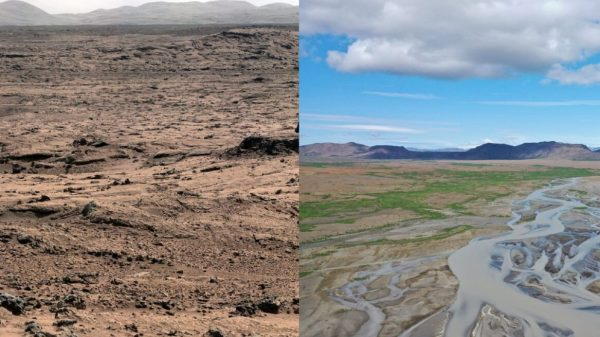 Marte já foi semelhante à Islândia há 3 bilhões de anos