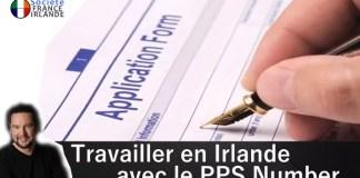 PPS Number société Irlande