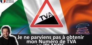 numéro TVA Irlande