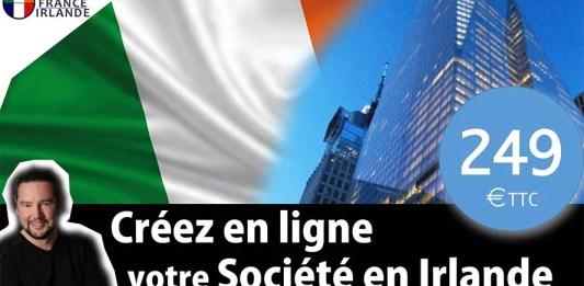 créer en ligne société Irlande