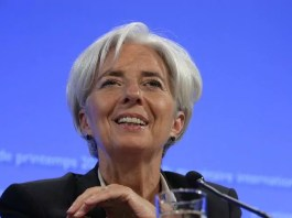 christine lagarde Irlande