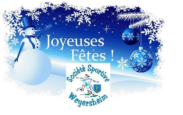 Joyeux Noel Et Bonne Annee 2019 La Societe Sportive De Weyersheim