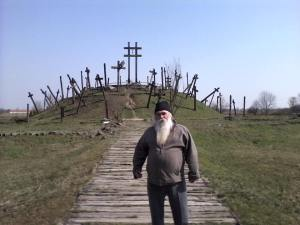 The old story teller,of the ruined village, Zsiga. Photo courtesy Zsigmond Gaal