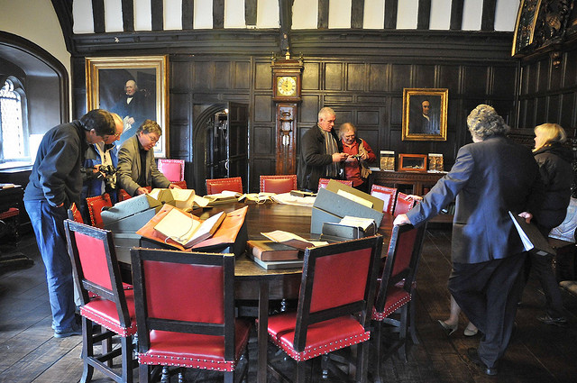 SHA members at Chetham's Library in 2010