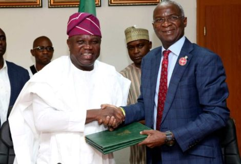 """Signs Of Greater Things To Come"" Ambode Enthused As Lagos Finally Gets Presidential Lodge 20yrs After Move Started"