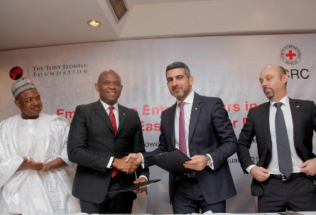 200 Entrepreneurs Empowered In Tony Elumelu Foundation, Red Cross Partnership
