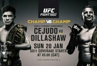 UFC to make Explosive Debut on DStv!