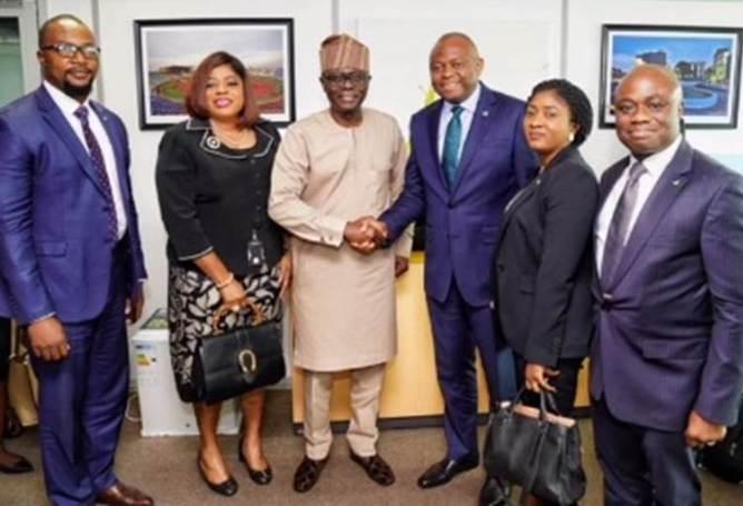 Nnamdi Okonkwo Leads Fidelity Bank Team On Courtesy Visit To Sanwo-Olu