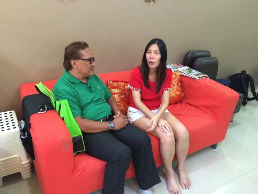 Ali ismail and Jerina Tan were meeting for the first time since 1986.